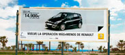 Vallas Publicitarias advertising